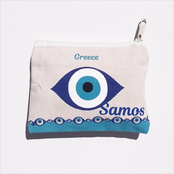 Canvas Wallet Samos
