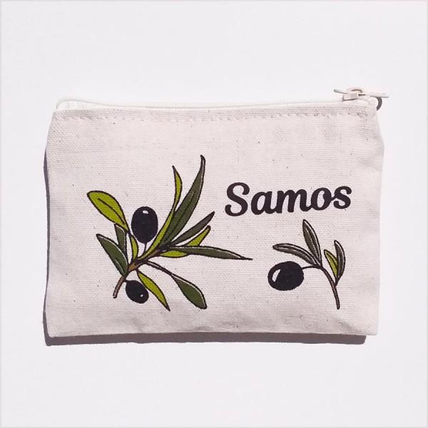 Canvas Wallet Samos