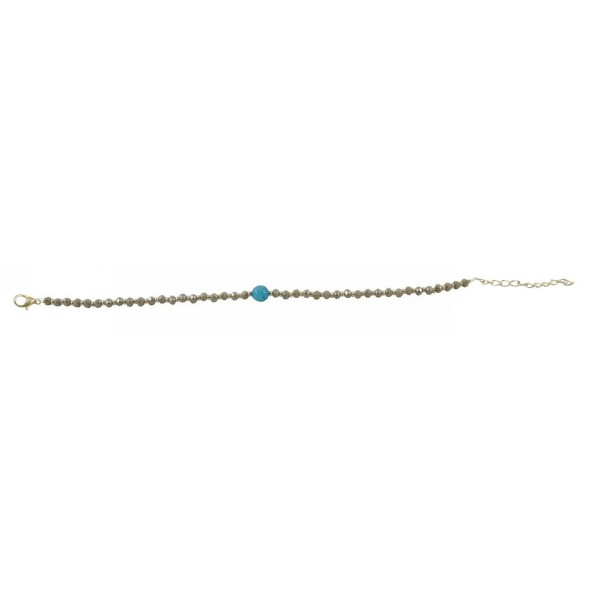 Anklet with pearls