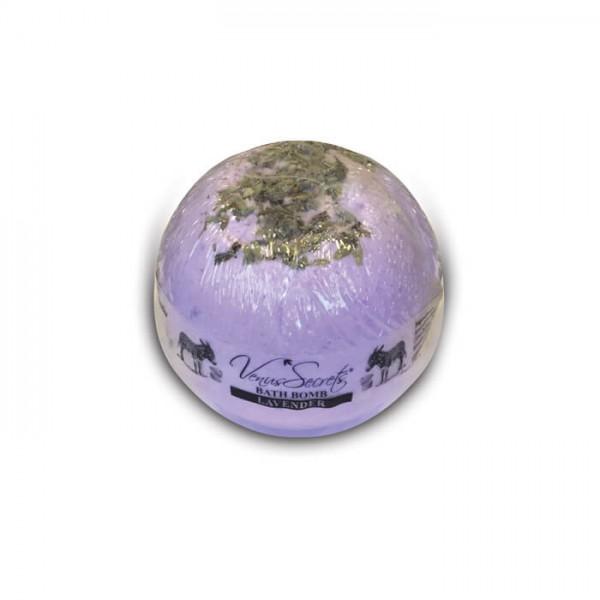 Bath Bomb Donkey Milk and Lavender 190g