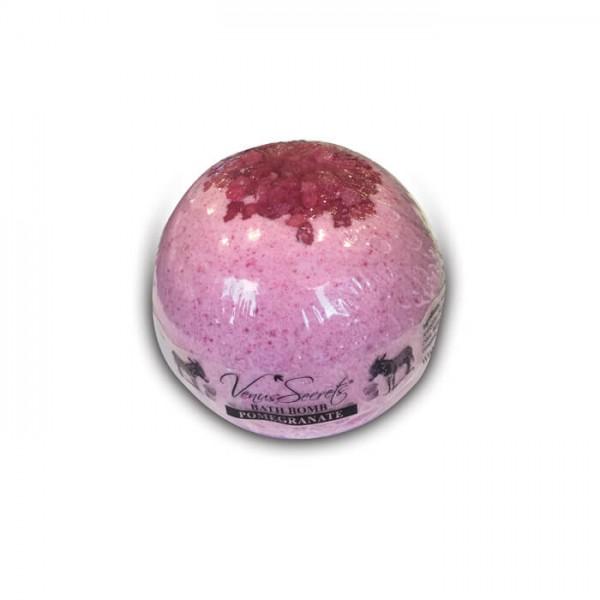 Bath Bomb Donkey Milk and Pomegranate 190g