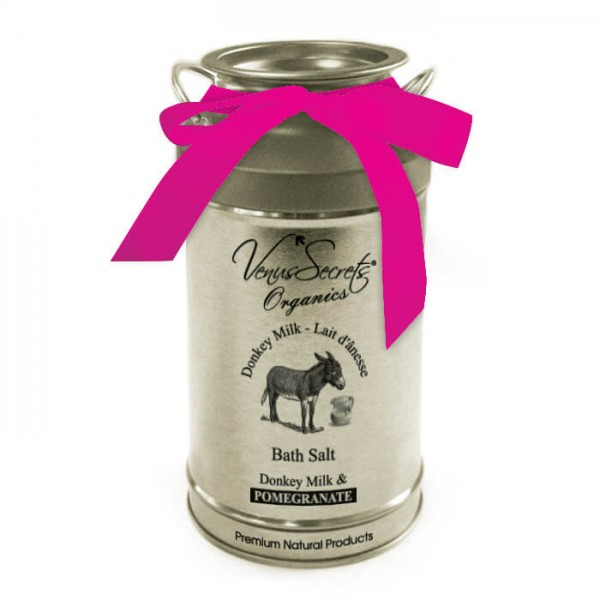 Bath Salt Donkey Milk and Pomegranate 400g