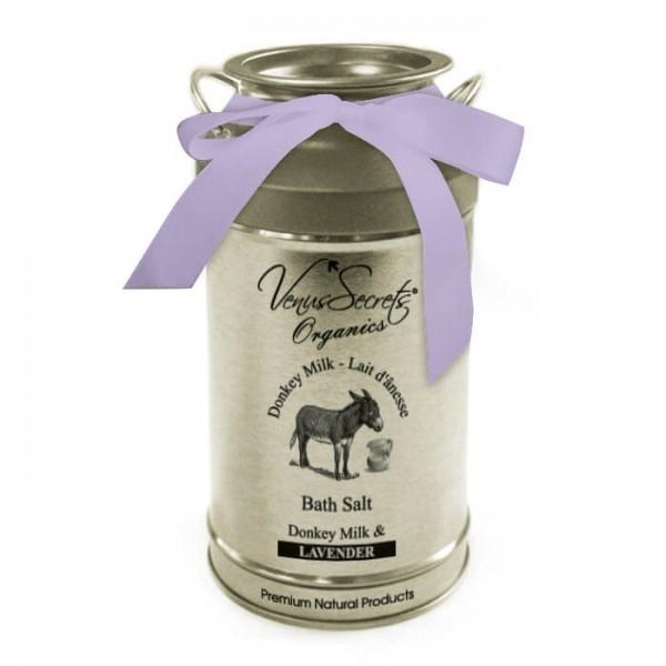 Bath Salt Donkey Milk and Lavender 400g