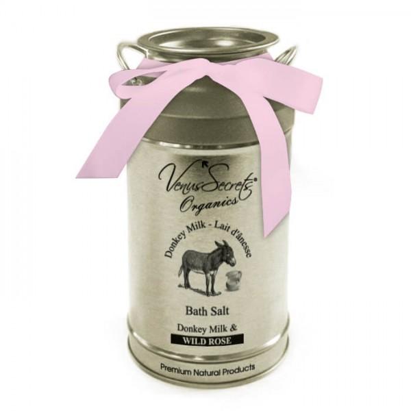 Bath Salt Donkey Milk and Wild Rose 400g