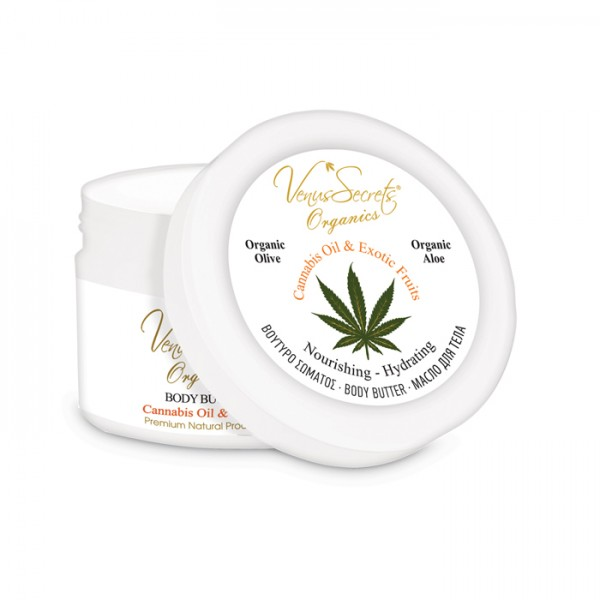 Body Butter Cannabis Oil and Exotic Fruits 280ml