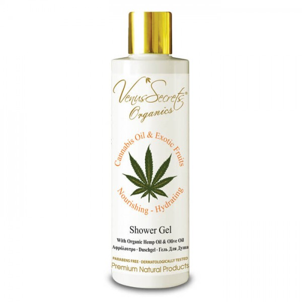 Shower Gel Cannabis Oil and Exotic Fruits 250ml