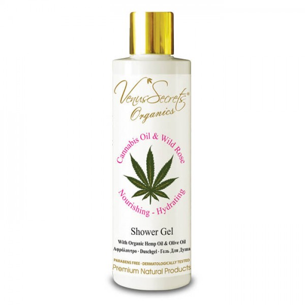 Shower Gel Cannabis Oil and Wild Rose 250ml