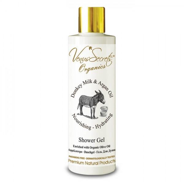 Shower Gel Donkey Milk and Argan Oil 250ml