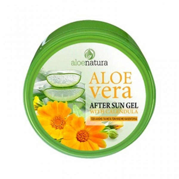 Aloe Natura After Sun Gel Aloe Vera & Calendula 200 ml