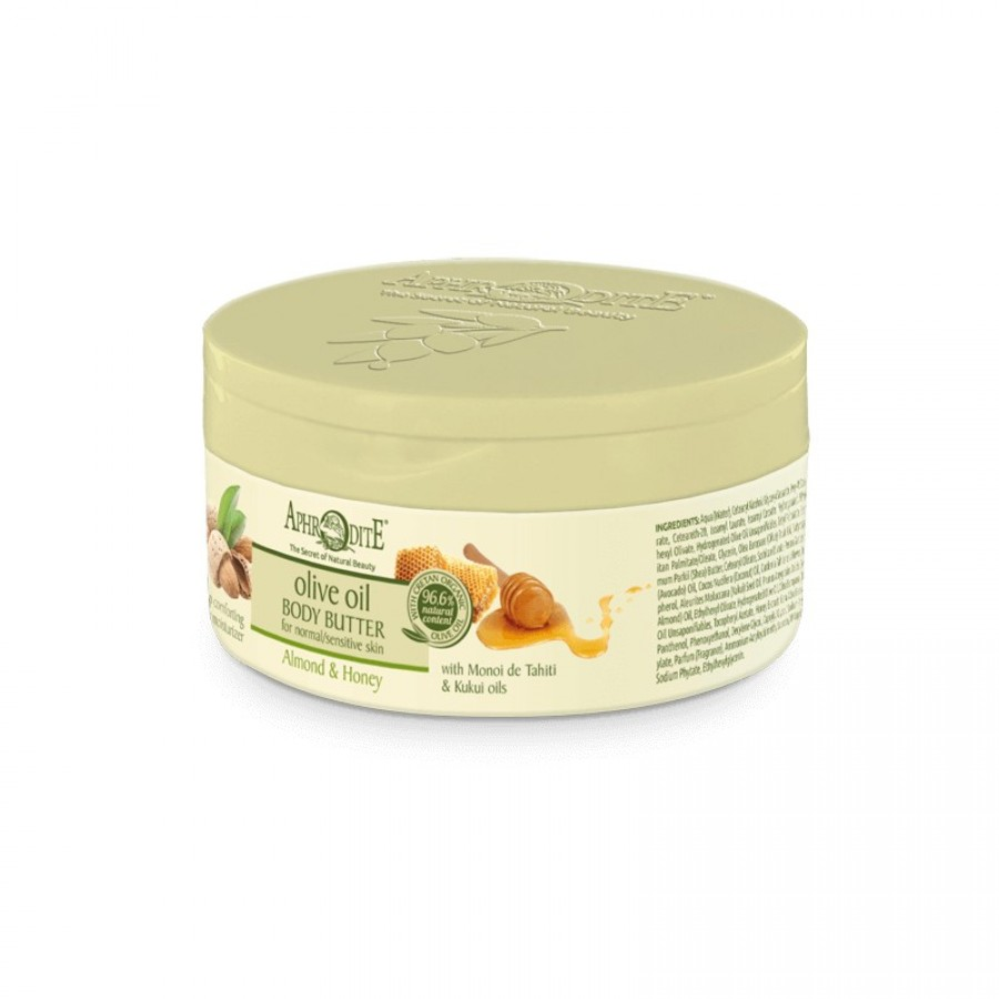 APHRODITE Comforting Body Butter with Almond & Honey 200ml / 6.76 fl oz