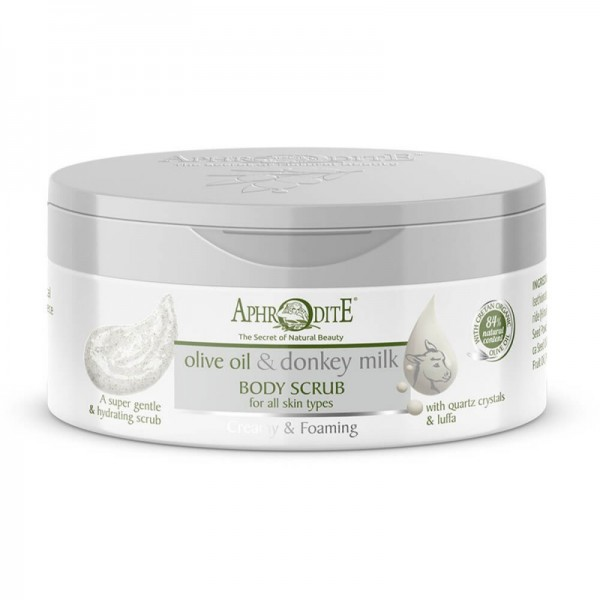 APHRODITE Creamy & Foaming Body Scrub 200ml / 6.76 fl oz