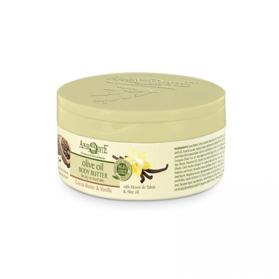 APHRODITE Deeply Hydrating Body Butter with Cocoa butter & Vanilla 200ml / 6.76 fl oz