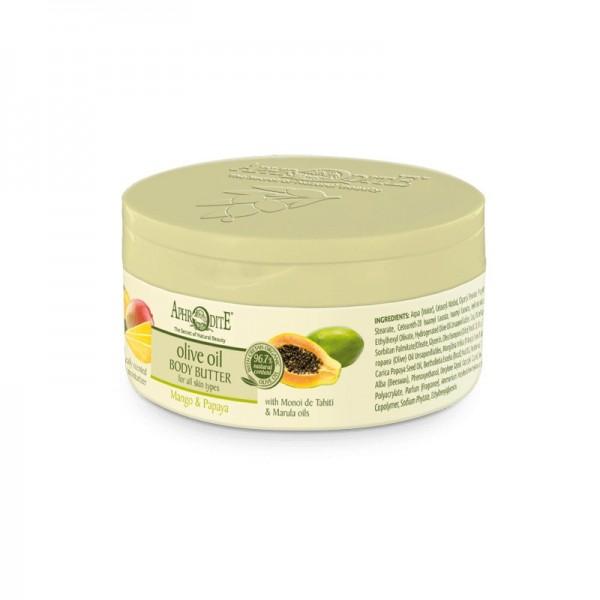 APHRODITE Nourishing Body Butter with Mango & Papaya 200ml / 6.76 fl oz