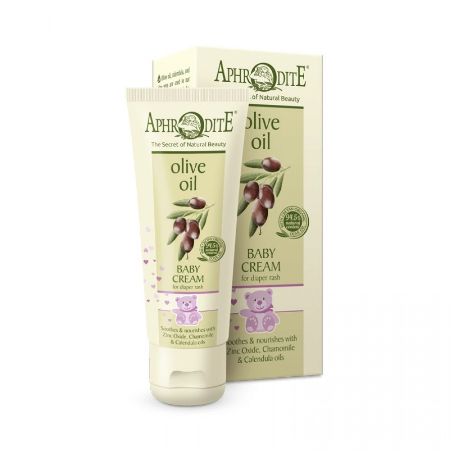 APHRODITE Soothing Baby Cream for diaper rashes & skin irritations 75ml / 2.53 fl oz