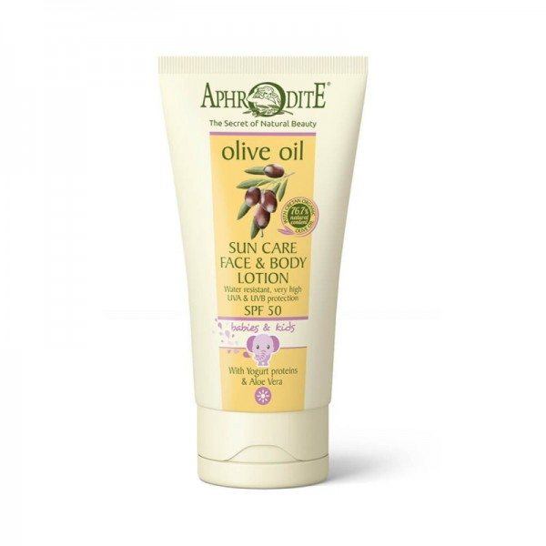APHRODITE Sun Care Face & Body Lotion For Babies & Kids SPF 50 150ml / 5.07 fl oz