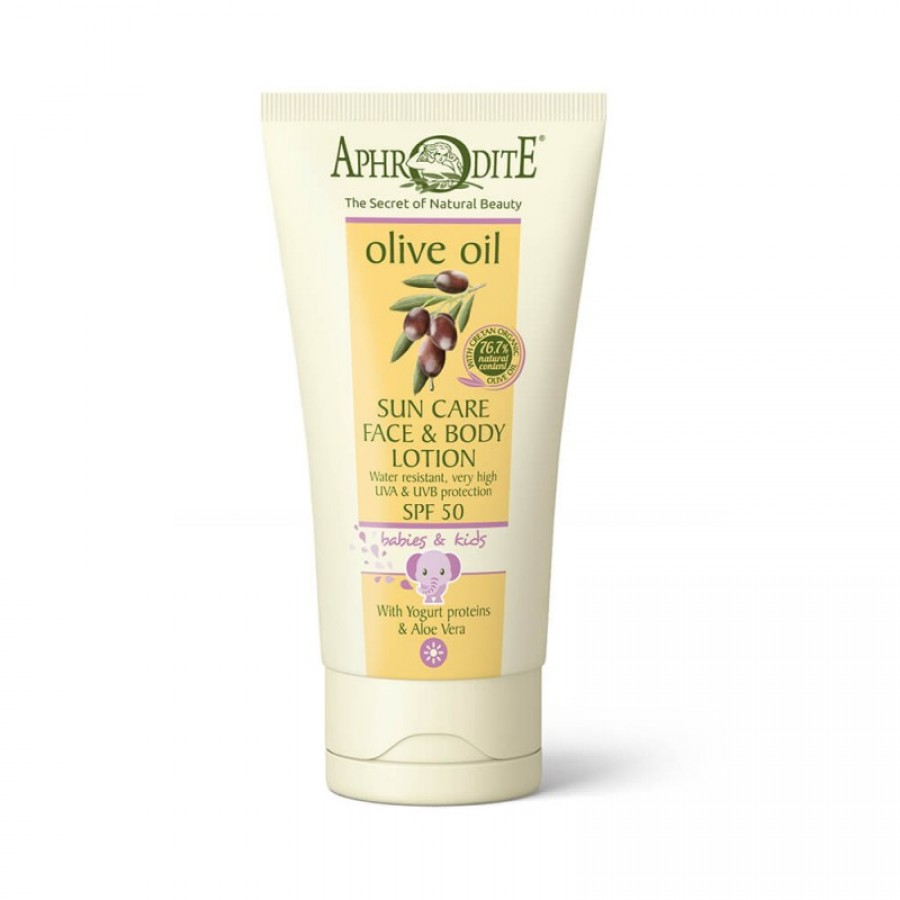 APHRODITE Sun Care Face & Body Lotion For Babies & Kids SPF 50 150ml / 5.07 fl oz