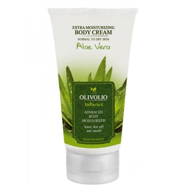 Olivolio Aloe Vera Extra Moisturising Body Cream 150 ml