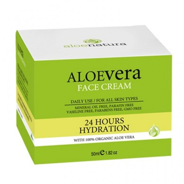 Aloe Natura 24 Hours Hydration Cream 50 ml