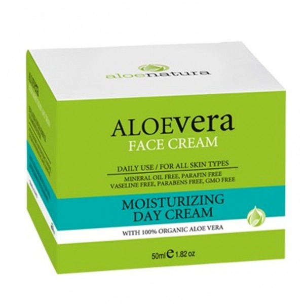 Aloe Natura Moisturizing Day Cream 50 ml