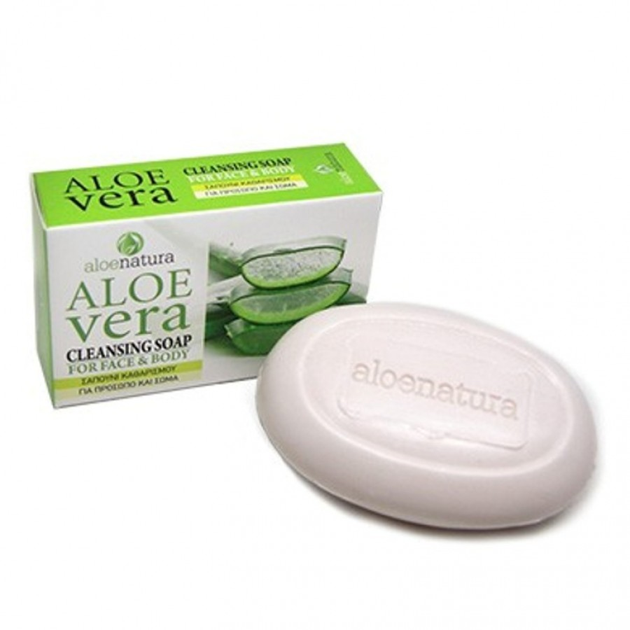 Aloe Natura Cleansing Soap For Face & Body 90 gr