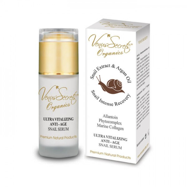 Anti-Age Ultra Vitalizing Snail Extract Serum with Marine Collagen for Face and Neck 40ml
