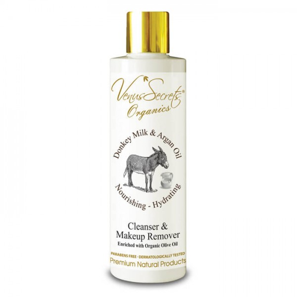 Cleanser and Makeup Remover Donkey Milk with Argan Oil 250ml