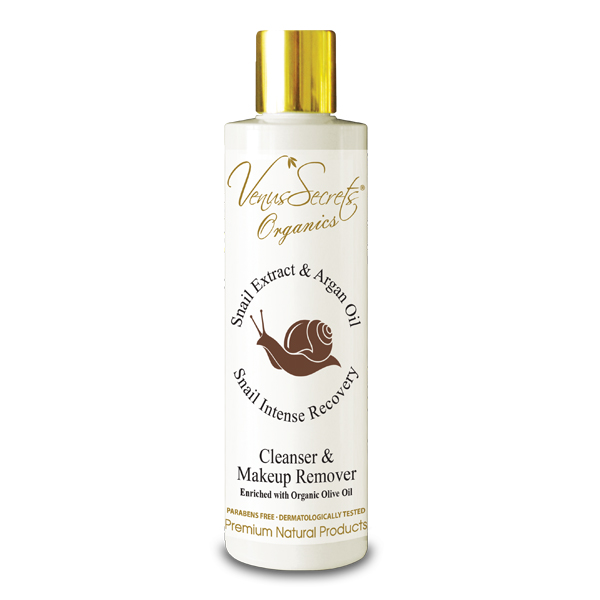 Snail Extract Cleanser and Make up Remover with Argan Oil 250ml