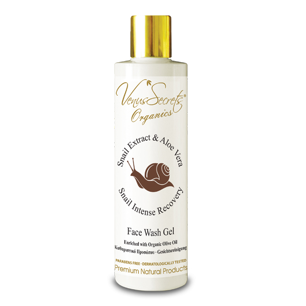 Snail Extract Face Wash Gel with Aloe Vera 250ml