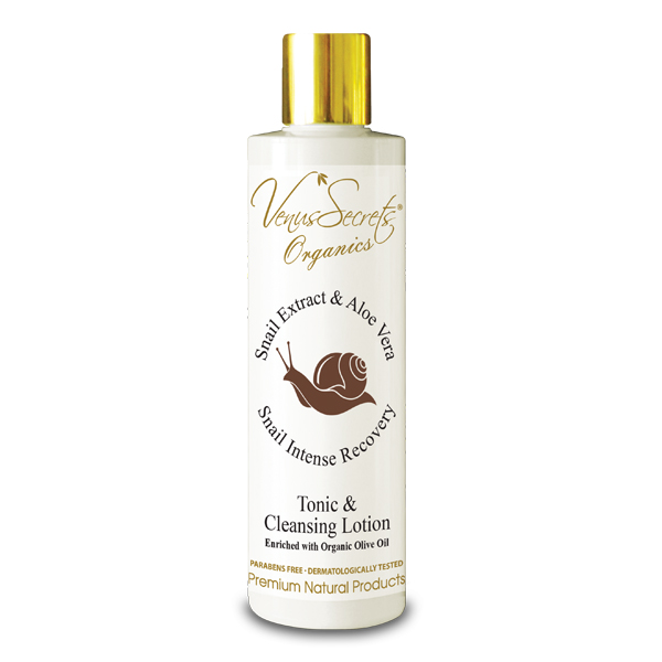 Snail Extract Tonic and Cleansing Lotion with Aloe Vera 250ml
