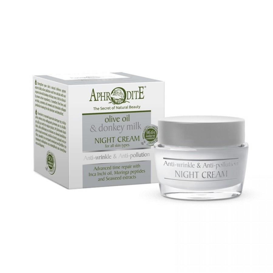 PHRODITE Anti-wrinkle & Anti-Pollution Night Cream 50ml / 1.70 fl oz