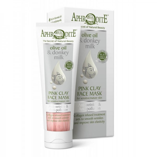 APHRODITE Anti-Wrinkle & Anti-Pollution Pink Clay Face Mask 75ml / 2.53 fl oz