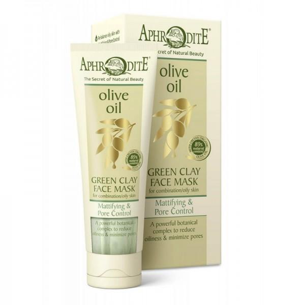 APHRODITE Mattifying & Pore Control Green Clay Face Mask 75ml / 2.53 fl oz