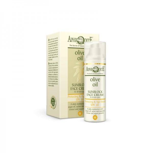 APHRODITE Protecting & Age Shield Sunblock Face Cream SPF 30 50ml / 1.70 fl oz
