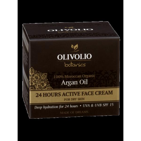 Olivolio Argan Oil 24 Hours Active Face Cream 50 ml