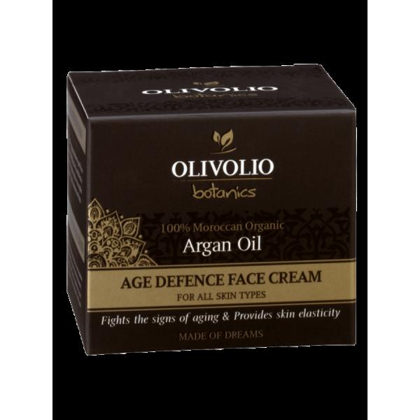 Olivolio Argan Oil Age Defence Face Cream 50 ml