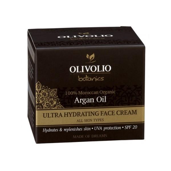 Olivolio Argan Oil Ultra Hydrating Face Cream 50 ml