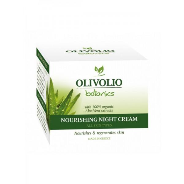 Olivolio Aloe Vera Nourishing Night Face Cream 50 ml