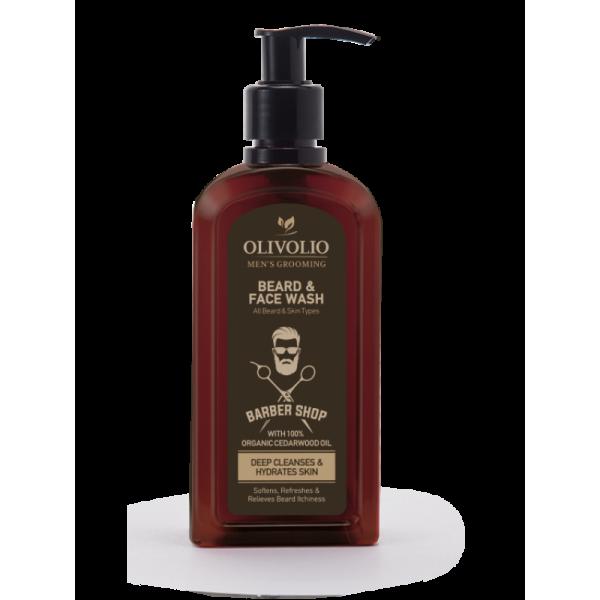 Olivolio Beard & Face Wash 200 ml