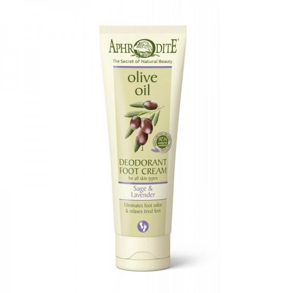 APHRODITE Deodorant foot cream sage & lavender 75ml / 2.53 fl oz
