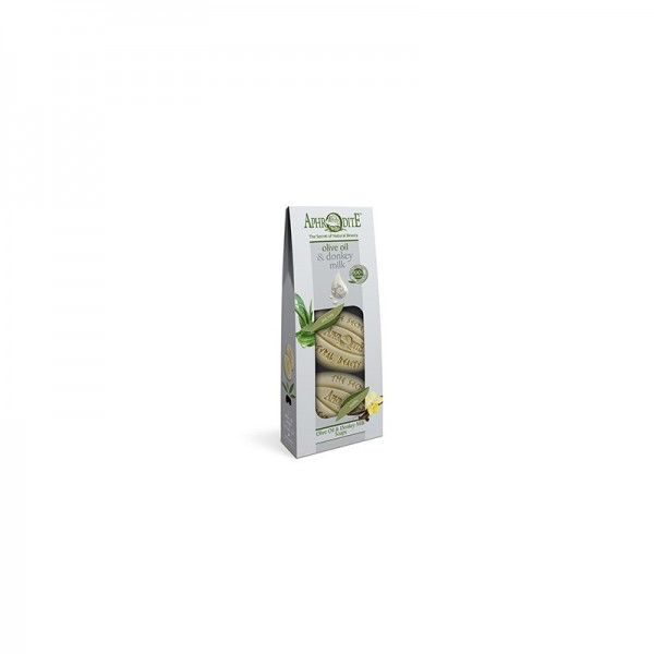 APHRODITE 2 Olive Oil & Donkey Milk Soaps Pack 170gr / 5.74 oz