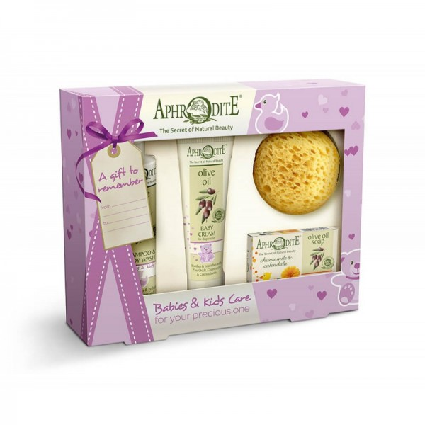 APHRODITE Babies & Kids Bath Gift Set 375g / 12,68 oz