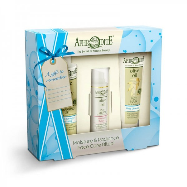 "APHRODITE Face Care ""Moisture & Radiance"" Gift Set 325g / 10.98 oz"