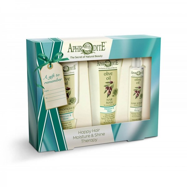 "APHRODITE Hair Care ""Moisture & Shine"" Gift Set  450g / 15.21 oz"