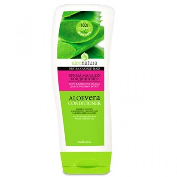 Aloe Natura Conditioner For Dry & Coloured Hair With Aloe Vera 200 ml