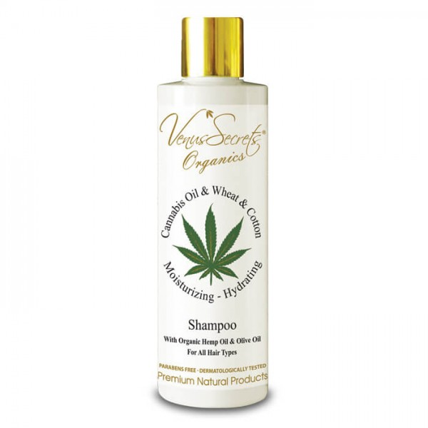 Shampoo Cannabis Oil and Wheat and Cotton for All Hair Types 250ml