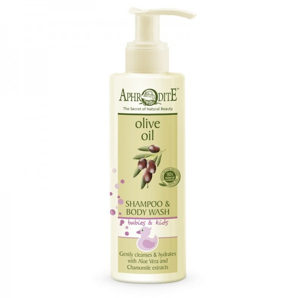 APHRODITE Tear-Free Shampoo/Body Wash for Babies & Kids 200ml / 6.76 fl oz