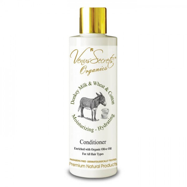 Conditioner Donkey Milk, Wheat and Cotton for All Hair Types 250ml