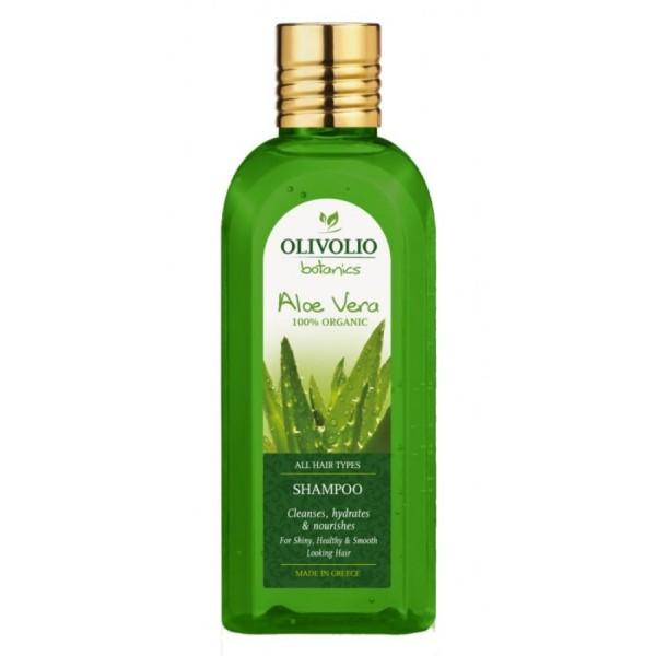Olivolio Aloe Vera Shampoo All Hair Types 200 ml