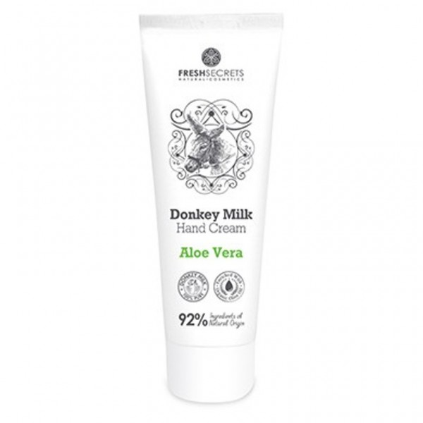 Fresh Secrets Hand Cream DonkeyMilk & Aloe Vera 100 ml