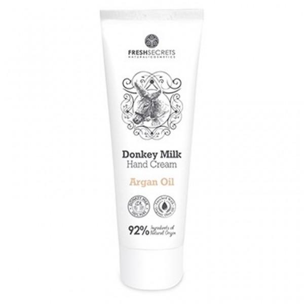 Fresh Secrets Hand Cream DonkeyMilk & Argan Oil 100 ml